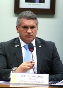 Julian Lemos assume Presidência Nacional do PSL