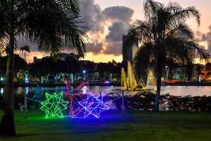 Luciano Cartaxo lança iluminação natalina da Capital e oferece atrações no Parque da Lagoa para crianças