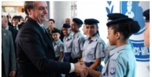 Prefeitura de Santa Rita escolhe levar modelo cívico-militar para Escola Odilon Ribeiro Coutinho, em Tibiri
