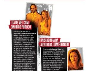 Advogada criticada por Julian Lemos é apontada em esquema que envolve Eduardo Bolsonaro