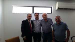Galego Souza participa de encontro com Enivaldo Ribeiro e lideranças do PP, em JP, e traça metas para 2020