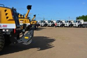 Cartaxo entrega 20 novas máquinas para zeladoria e manutenção da cidade nesta sexta-feira