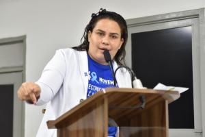 Luciene de Fofinho repudia veto do prefeito a projeto que cria Plano Municipal de Prevenção ao Suicídio
