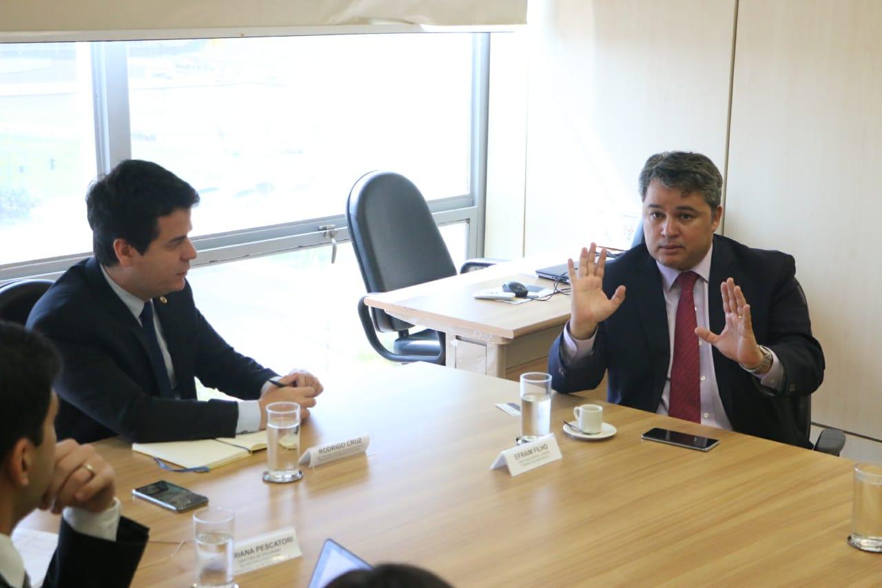 Efraim anunciou investimentos de 900 milhões de dólares para infraestrutura na Paraíba