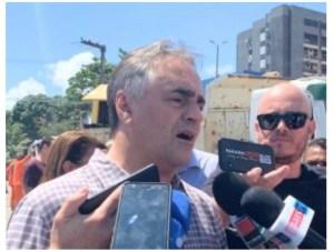 """""""Do ponto de vista político, temos diferenças"""", diz Cartaxo ao ser questionado sobre aliança com João ou Ricardo"""