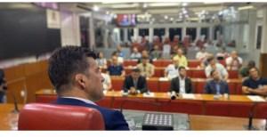 Câmara de João Pessoa vira palco de encontro ecumênico entre representantes e admiradores das artes marciais; proposta foi do vereador Carlão