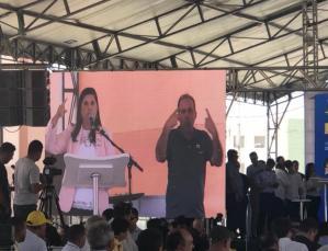 Vice-governadora comenta sobre as vaias em Campina Grande