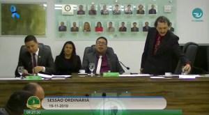 Vereadores aceitam mais um pedido de cassação do prefeito Berg Lima