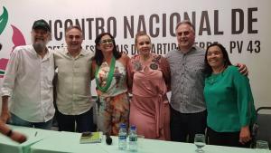 Presidente nacional do PV diz que gestão de Luciano Cartaxo é o modelo que o partido vai oferecer ao país nas eleições municipais