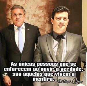 Julian Lemos posta foto ao lado de Moro, diz que seguirá pautas do governo, mas terá coragem para discordar