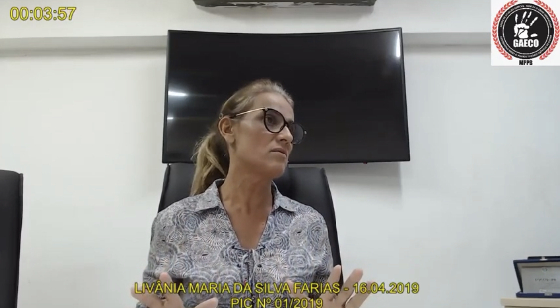 Juiz designa audiência de instrução e julgamento para Livânia Farias e outros três réus da Operação Calvário