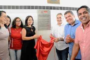 Luciano Cartaxo abre ano letivo 2020 para mais de 65 mil alunos e entrega novo padrão de escola no bairro Mandacaru