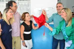 Cartaxo entrega USF no Bairro dos Novais e gestão soma 34 unidades no novo padrão que oferece mais conforto e serviços humanizados à população