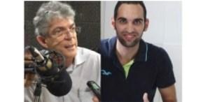 jornalista da Sanhauá peita RC e deixa ex-governador irritado ao fazer questionamento sobre assassinato de Bruno Ernesto; OUÇA