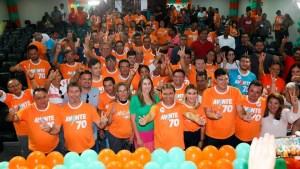 Avante realiza maior encontro partidário da Paraíba e filia deputado Felipe Leitão e ex-deputada Nadja Palitot