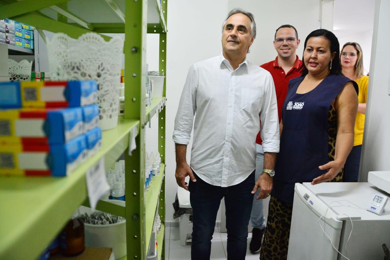 Sem solenidade, Cartaxo entrega USF no Vieira Diniz e reforça Atenção Básica no combate ao coronavírus