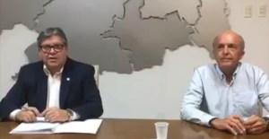 CORONAVÍRUS: João Azevêdo decreta estado de calamidade pública na Paraíba