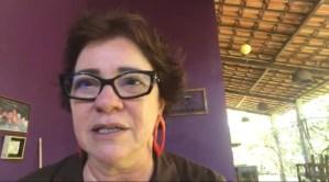 """VÍDEO – Márcia Lucena volta a comentar festa da tornozeleira: """"A justiça não impôs ficar em casa deprimida, me enchendo de medicação"""""""