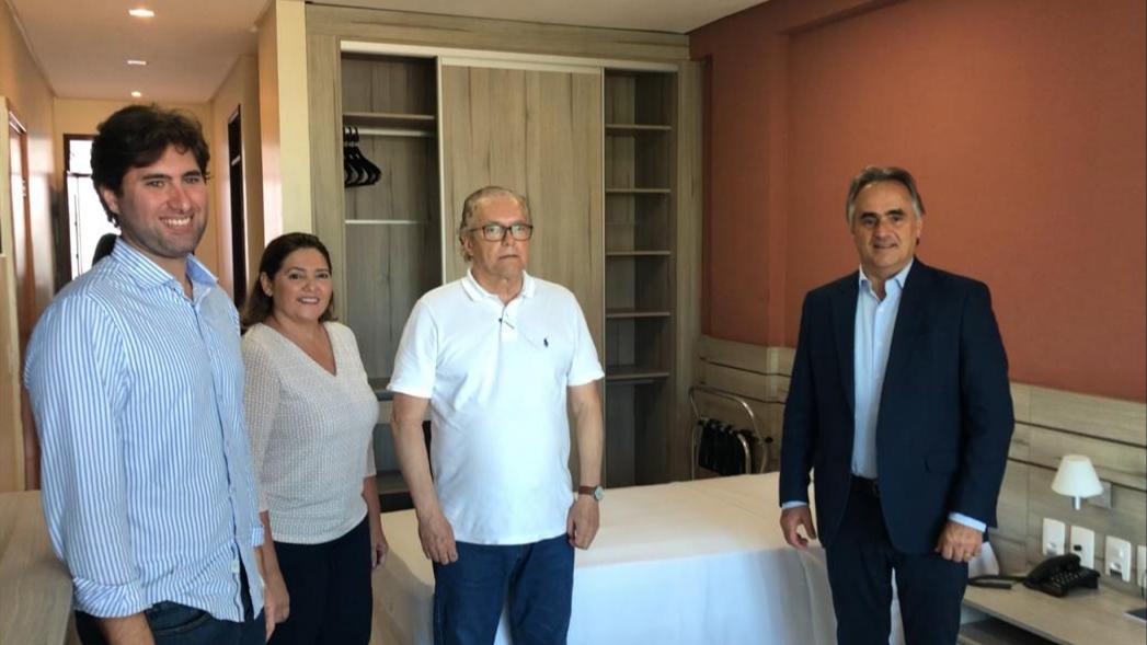 Combate ao Coronavírus: Cartaxo sela parceria com Fecomércio e assegura hotel para profissionais de saúde em João Pessoa