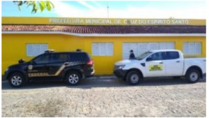 Operação da PF cumpre mandado contra prefeito de Cruz do Espírito Santo
