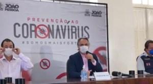 Cartaxo anuncia fechamento das feiras livres e proíbe acesso às praças de João Pessoa ; veja outras medidas