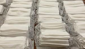 Governo do Estado inicia distribuição de três milhões de máscaras reutilizáveis nesta segunda-feira