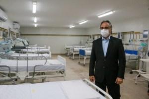 Luciano Cartaxo entrega novo Hospital Prontovida e João Pessoa chega a 212 leitos de atendimento à Covid-19