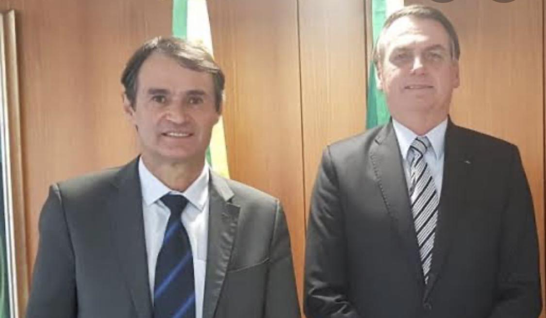 """Bolsonaro elogia Prefeito de Campina Grande por autorizar uso da hidroxicloroquina em CG: """"Mais um ponto para você, Romero"""""""