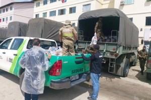 Parceira com o BID – PMJP beneficia mais de 1.130 famílias no segundo dia de entrega de cestas nutricionais e kits de higiene