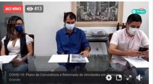 Romero confirma reabertura de comércio, igrejas e academias a partir de segunda-feira em CG