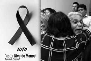 Ministra Damares Alves lamenta morte do ex-deputado Nivaldo Manoel, pai da vereadora Eliza Virgínia