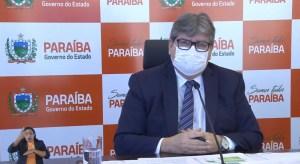 """""""O pior já passou"""", diz João Azevêdo ao anunciar plano de retomada econômica na PB"""