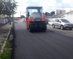 Mobilidade urbana – PMJP avança com programa 'Ação Asfalto'; já são 56,7 km de vias asfaltadas ou recapeadas só este ano