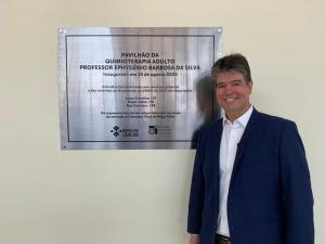 Ruy Carneiro celebra inauguração da nova ala de quimioterapia do Hospital Napoleão Laureano