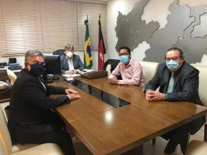 Kita é recebido por João Azevêdo e garante parceria do Governo do Estado em obras e serviços para Bayeux