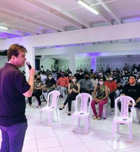 Pré-candidatura de Ruy a prefeito recebe reforço de jovens
