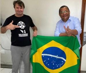 Nilvan recebe apoio do deputado Moacir Rodrigues, irmão de Romero