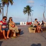Inaugurado há menos de um mês, Largo de Tambaú reúne famílias e já impulsiona comércio local