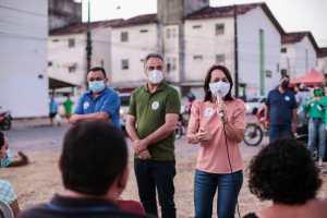 Edilma Freire encontra população do Vale das Palmeiras e garante mais habitação, infraestrutura e ações sociais para as comunidades