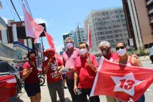 Dirigentes da Executiva Estadual do PT divulgam manifesto em apoio à candidatura de Anísio Maia