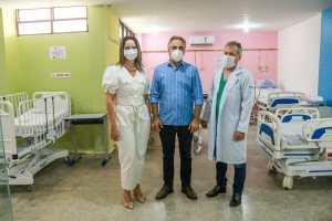 Luciano Cartaxo entrega nova ala de enfermaria da ortopedia e traumatologia infantil do Ortotrauma de Mangabeira