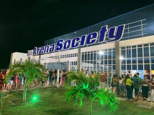 Prefeito de Pedras de Fogo inaugura primeira Arena Society pública do Nordeste idealizada por Lucas Romão