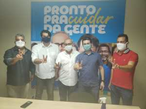 PROS oficializa apoio a Cicero Lucena na disputa pela Prefeitura de João Pessoa