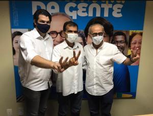 Suplente de vereador, Luiz da Padaria, anuncia apoio à candidatura de Cícero Lucena