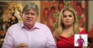 Em mensagem de Natal, João Azevêdo se solidariza com vítimas da Covid-19 e destaca que nossas atitudes fazem a diferença