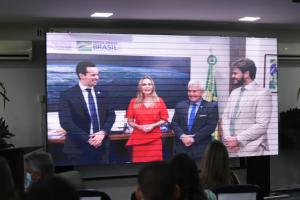 Daniella comemora lançamento do novo Parque Tecnológico da Paraíba
