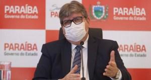 João Azevêdo discute ações conjuntas de enfrentamento da pandemia com Bruno Cunha Lima