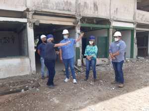 Ruy faz visita técnica às obras no antigo CAIC de Mangabeira, onde vai funcionar o IFPB