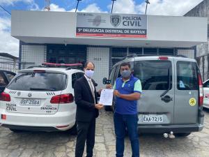 BAYEUX- Perícia atesta que carta-renúncia vazada à imprensa não foi assinada pelo vereador eleito Josimar Versalle