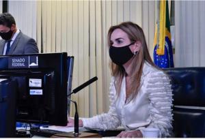 Daniella Ribeiro reassume mandato no Senado Federal